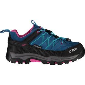 CMP Campagnolo Rigel WP Low Trekking Shoes Kids deep lake/baltic